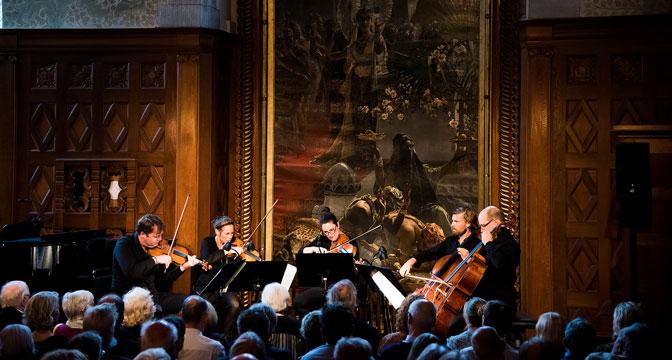 Konsert på Tjolöholms Slott